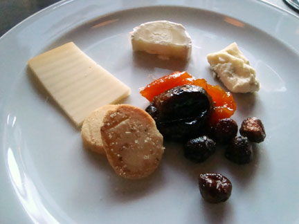 the Cheese & Fruit Course