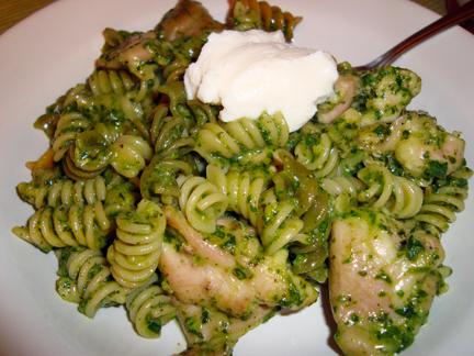 A Marjoram & Thyme Pesto