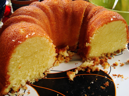 Elvis' Favorite Pound Cake