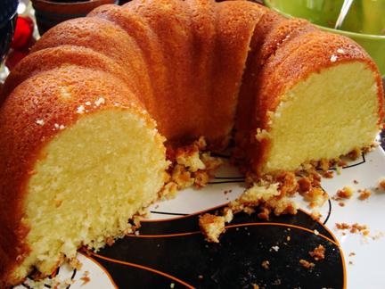 Elvis' Favorite Pound Cake